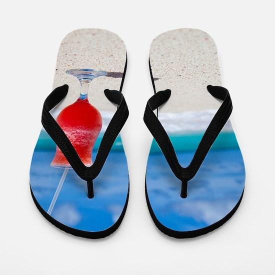 daiquiri paradise beach Flip Flops