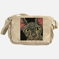 Sphynx Hairless Cat Messenger Bag
