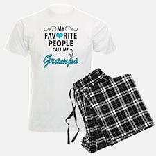 My Favorite People Call Me Gramps Pajamas
