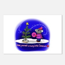 Have Yourself a Merry Lit Postcards (Package of 8)