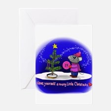 Have Yourself a Merry Little Christ Greeting Cards