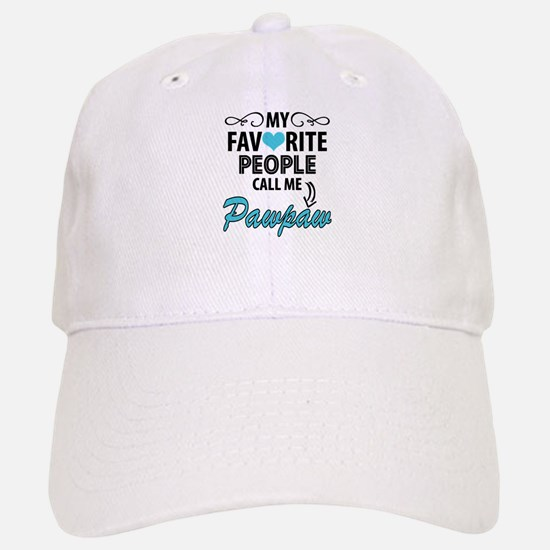 My Favorite People Call Me Pawpaw Baseball Baseball Baseball Cap