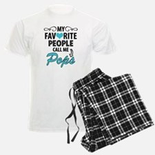 My Favorite People Call Me Pops Pajamas