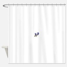 Forget me nots Shower Curtain
