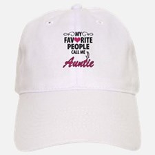 My Favorite People Call Me Auntie Baseball Baseball Baseball Cap