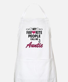 My Favorite People Call Me Auntie Apron