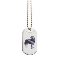 Wolves for men Dog Tags