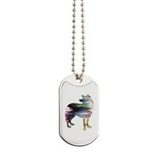 Cute Wolves for men Dog Tags