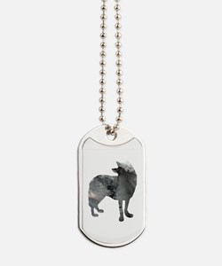 Unique Wolves for men Dog Tags