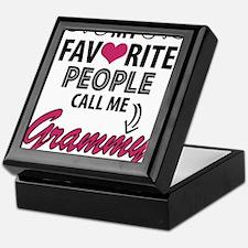 My Favorite People Call Me Grammy Keepsake Box