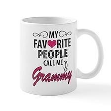 My Favorite People Call Me Grammy Mugs