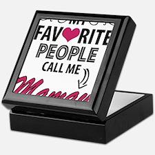 My Favorite People Call Me Mamaw Keepsake Box
