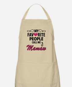 My Favorite People Call Me Mamaw Apron