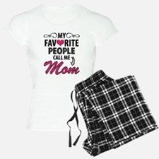 My Favorite People Call Me Mom Pajamas