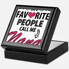 My Favorite People Call Me Nana Keepsake Box