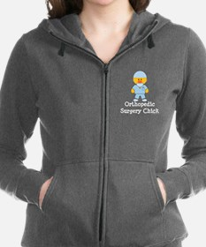 Unique Orthopedic physician Women's Zip Hoodie