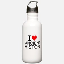 I Love Ancient History Water Bottle