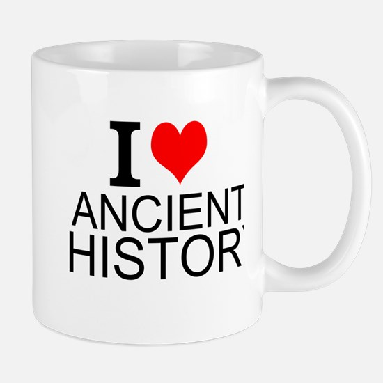 I Love Ancient History Mugs