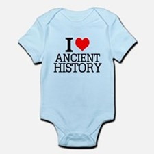 I Love Ancient History Body Suit
