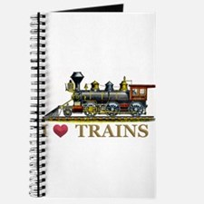 I Love Trains Journal