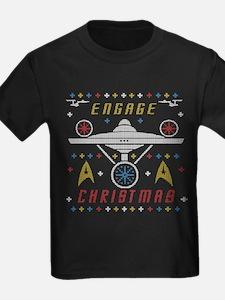 Engage Christmas Star Trek Ugly Christmas Sweater