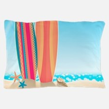 Surfboards Pillow Case
