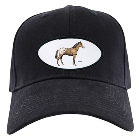 Appaloosa Horse Black Cap