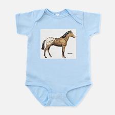 Appaloosa Horse Infant Creeper
