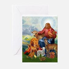 Cute Peaceable kingdom Greeting Cards (Pk of 20)