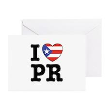 I Love PR Greeting Cards (Pk of 10)