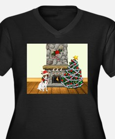 A Jack Russell Christmas Plus Size T-Shirt