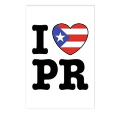 I Love PR Postcards (Package of 8)