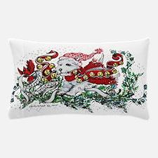 Westie White Christmas Pillow Case