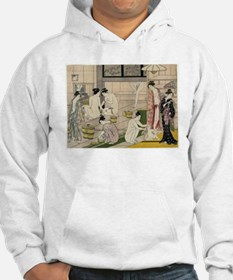 asian geisha bathhouse Jumper Hoodie