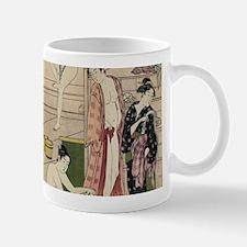 asian geisha bathhouse Mugs