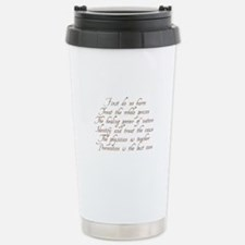 Unique Acupuncture Travel Mug