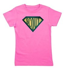 Cute Girl scout Girl's Tee
