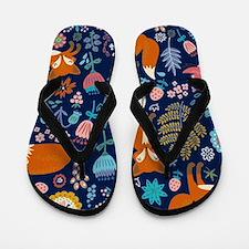 Unique Retro Flip Flops