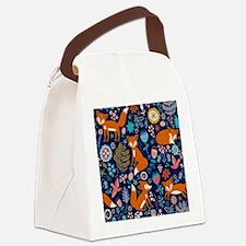 Unique Foxes Canvas Lunch Bag