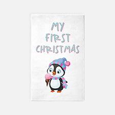 MY 1ST CHRISTMAS Area Rug