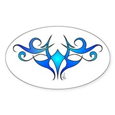 Water Oval Decal