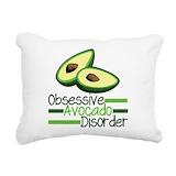 Avocado Rectangle Canvas Pillows