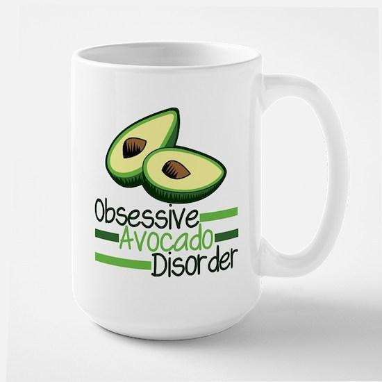 Cute Avocado Large Mug