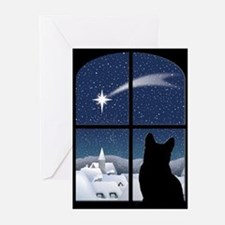 Cute Cat lover holiday Greeting Cards (Pk of 20)