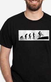 Cute Mountain bike evolution T-Shirt