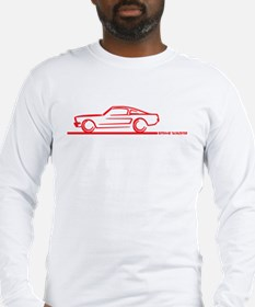 Cute Mustang 66 Long Sleeve T-Shirt