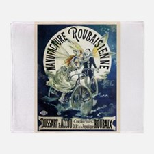 Manufacture Roubaisienne Cycles Throw Blanket