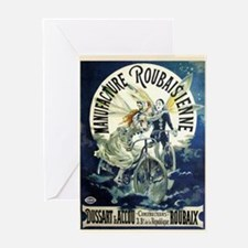 Manufacture Roubaisienne Cycles Greeting Cards