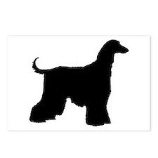 Afghan Hound Dog Postcards (Package of 8)