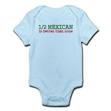 Half Mexican Infant Bodysuit